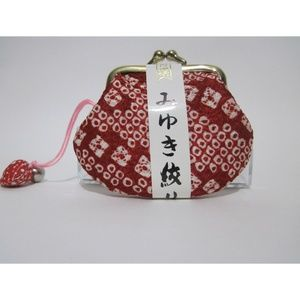 A Lovely RED & WHITE Mini Coin Purse